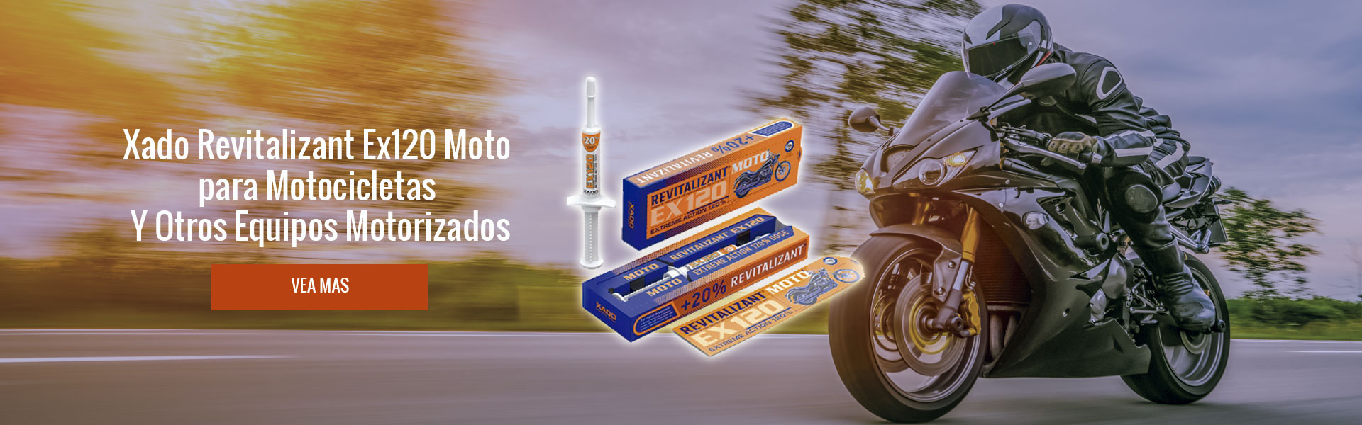 XADO REVITALIZANT EX120 MOTO PARA MOTOCICLETAS